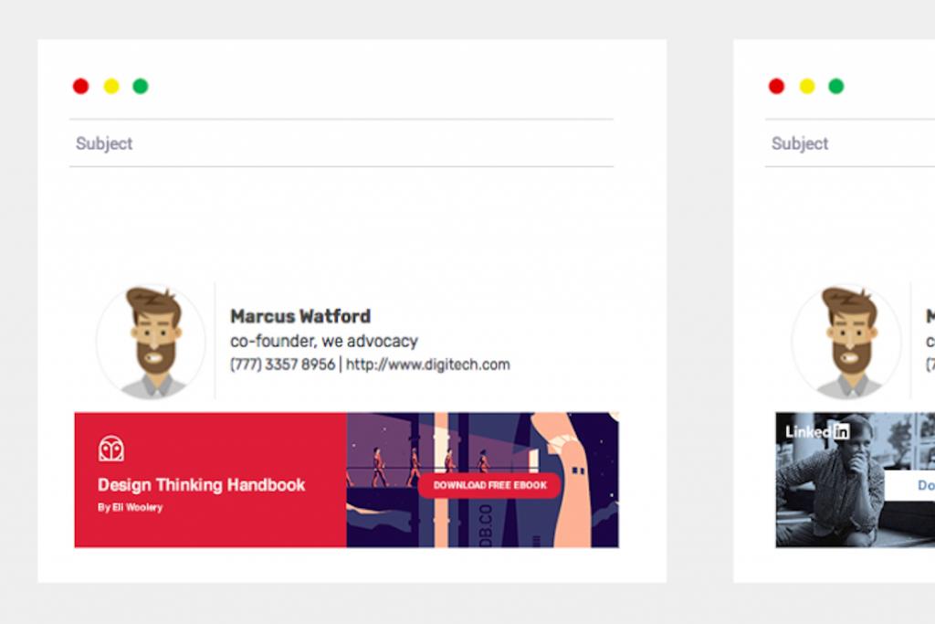Renforcer votre identite visuelle avec une banniere dans votre signature mail