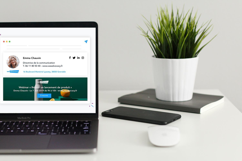 Tutoriel comment créer une signature de mail professionnelle