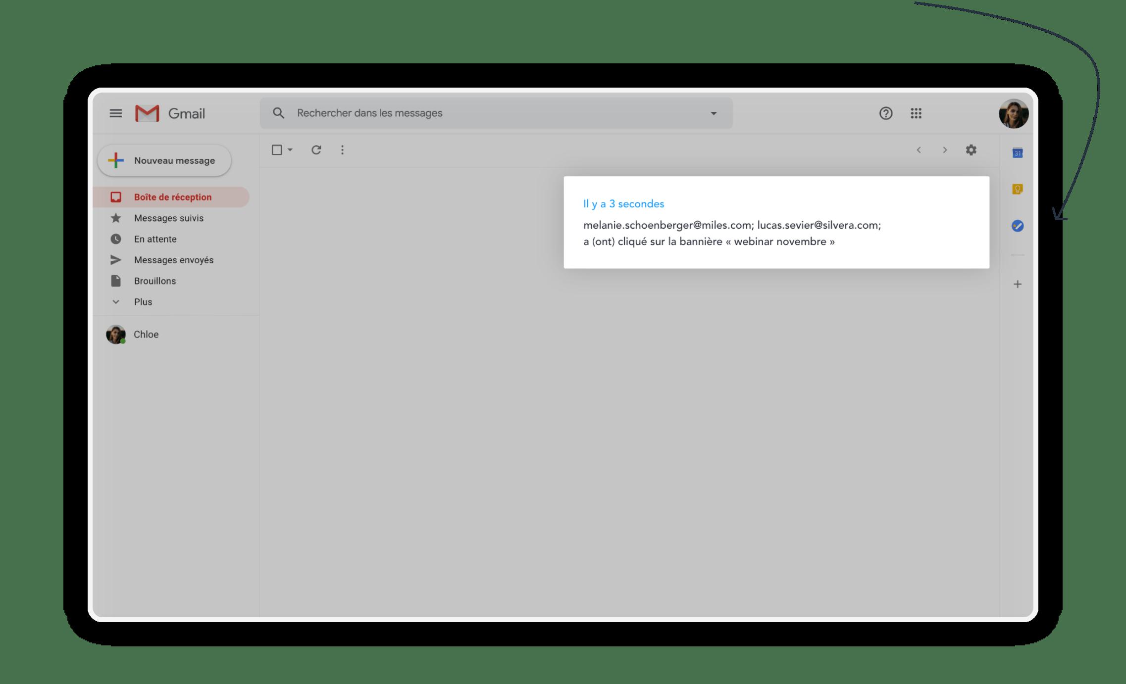 we advocacy, la solution est déployée dans votre messagerie Gmail