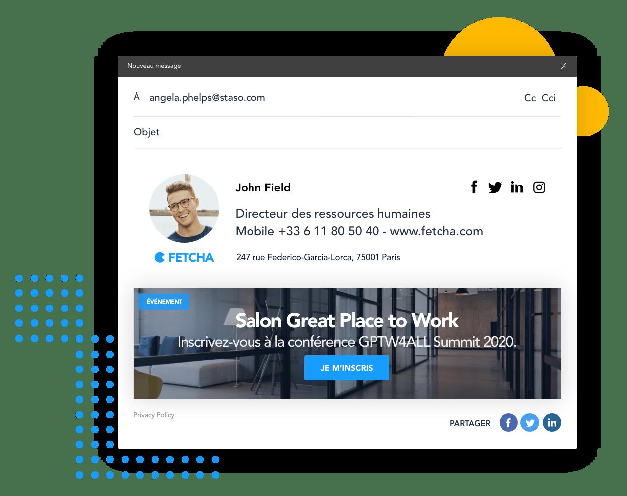 La plateforme pour communiquer avec vos prospects et clients