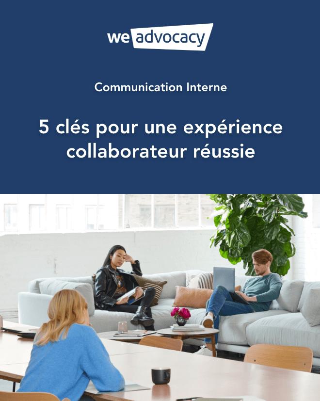 Livre Blanc - Communication Interne - 5 clés pour une expérience collaborateur réussie