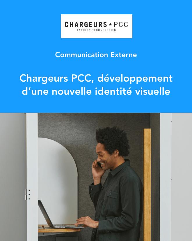 Cas Client - Communication Externe - Chargeurs PCC, développement d'une nouvelle identité visuelle